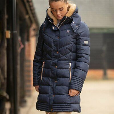 Mark Todd Woman/Ladies Deluxe Long Padded Coat-TOD6921