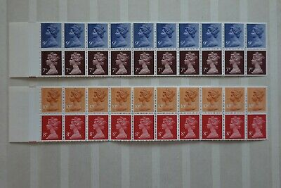 GB Folded Christmas Booklets issued in 1978 &1979 1st and 2ed class MNH.