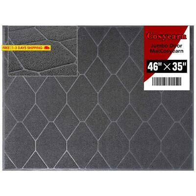 Entry Way Doormat For Front Exterior Doors, Xl Jumbo 46X35 Inches Large Size,Ins