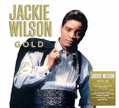 JACKIE WILSON GOLD 3 CD SET (60 TRACK COLLECTION) (Released 2019)