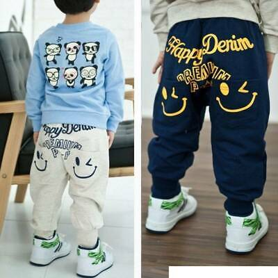 Baby Boys Girls Harem Pants Cartoon Bottoms Leggings Sweatpants Joggers Baggy