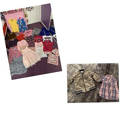 Girls Bundle Age 4-5 Including Ted Baker And Ralph Lauren Brand New Dress