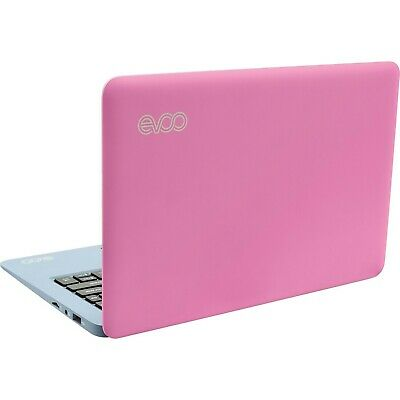 "EVOO Ultra Thin Pink Windows 10 Laptop 2GB 32GB 10.1"" (1366x768) with webcam"