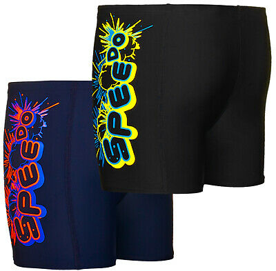 Speedo Boys Kids Bubble Shorts Swimming Pool Jammers Swimmers Swim Trunks New