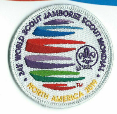 24th WORLD SCOUT JAMBOREE 2019 WSJ IST STAFF PATCH BSA SUMMIT UNIFORM BADGE USA