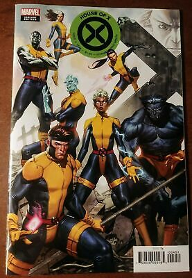 HOUSE OF X #4 Connecting Molina Variant Cover Marvel 2019 X-Men Hickman