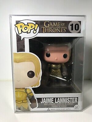 Funko Pop! Game of Thrones Jaime Lannister #10 Vaulted 100% Authentic W/Protect