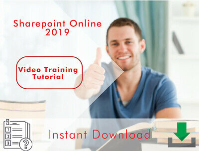 Sharepoint Online 2019 Professional Video Training Tutorial - Instant Download