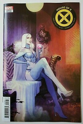 House of X #3 Mike Huddleston Variant Marvel 2019 X-Men Emma Frost NM Unread