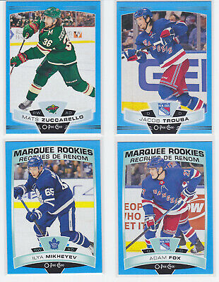 2019-20 OPC Blue Border Parallels U PICK Finish your set FREE combined Shipping