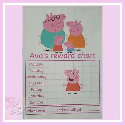 🎀 Children's Behaviour Chart - Reward / star Toy Story Chart. FULLY RE-USABLE🎀