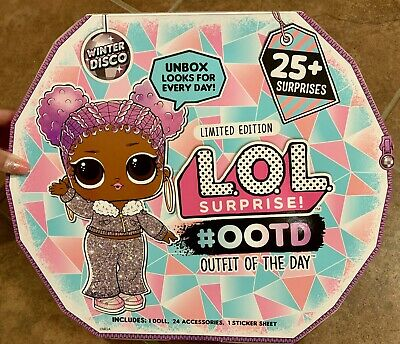 NEW LOL Surprise OOTD Big Doll Limited Edition Holiday Advent Calendar