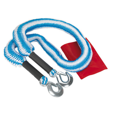 TH2502 Sealey Tow Rope 2000kg Rolling Load Capacity [Tow Poles & Ropes]