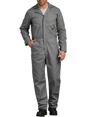 (gray, xltall) - Big & Tall Men's Deluxe Cotton Coveralls. Dickies. Best Price