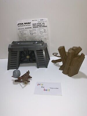 Star Wars Power of the Force Endor Attack Playset POTF 100% Complete Action 3.75