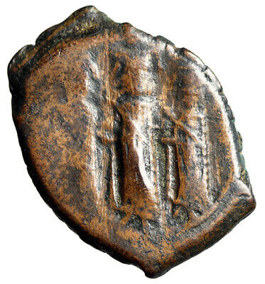 """CERTIFIED AUTHENTIC Byzantine Coin of Heraclius """"Martina & Constantine"""" SCARCE"""