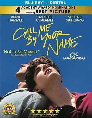 Call Me by Your Name [Blu-ray] DVD, Armie Hammer, Michael Stuhlbarg, Amira Casar