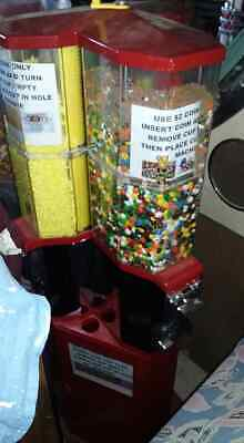 Candy Lolly Vending Machine with Cups Commercial 3 Slots Arcade
