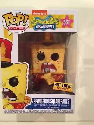 Funko POP! ANIMATION -- SPONGEBOB SQUAREPANTS #561 -- HOT TOPIC EXCLUSIVE