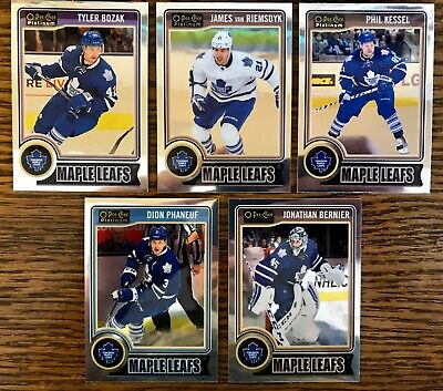 2014-15 OPC Platinum Toronto Maple Leafs Lot of 5 Inc. Van Riemsdyk, Kessel, +++