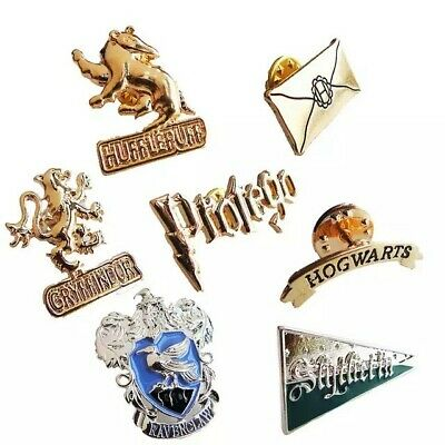 Harry potter brooch Insignia the school witchcraft & wizardry badge pin Hogwarts