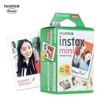 Fujifilm Instax 20 Sheets Photo Film Paper Snapshot Instant Print Fr Mini 7s 8 9