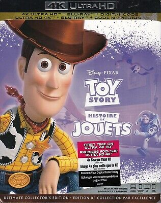 Toy Story (4K Ultra Hd/Bluray)(2 Disc Set)(Used)