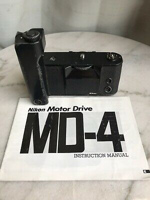 Nikon MD-4 Motor Drive for F3 F3HP F3P F3/T F3AF