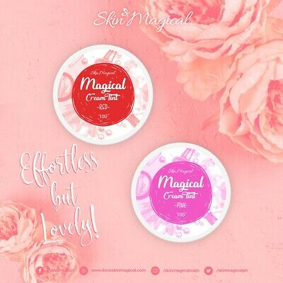 Skin Magical Magical Cream Tint. Available in RED & PINK.