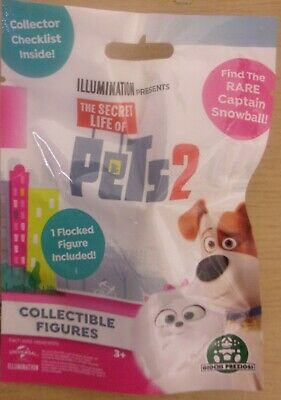 The Secret Life Of Pets 2 ~ Mini Collectable Figure In Blind Bag