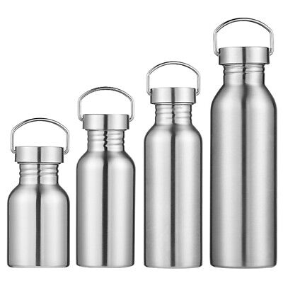 Vacuum Insulated Stainless Steel Water Bottle Outdoor Camping Hiking Sport Flask