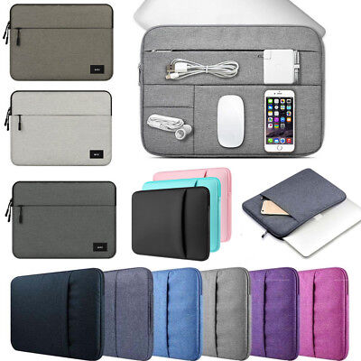Carrying Laptop Sleeve Case Pouch Bag For 11/13/15/15.6 inch Ultrabook NoteBook