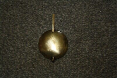 Vintage Brass Mantel Clock Pendulum for spares/repairs parts