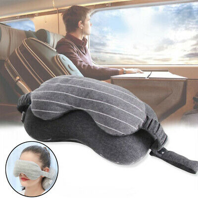 Soft Flight Outdoor Protable Eye Mask Travel Pillow Neck Cushions Multifunction