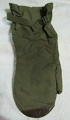 WWII A.A.F. Air Force, U.S. Army Type A-12 Heavy Bomber Gunners Mittens / Gloves
