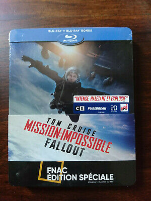 Mission Impossible- Fall Out steelbook blu-ray NEUF SOUS BLISTER Tom Cruise