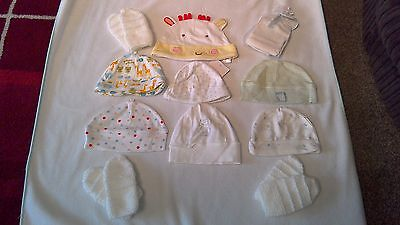 Unisex Baby Hats, From Birth to 3 months, In great condition.