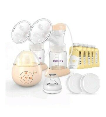 NEW Electric Breast Pump, Yunbaby S19 Automatic with Massage and Memory Function