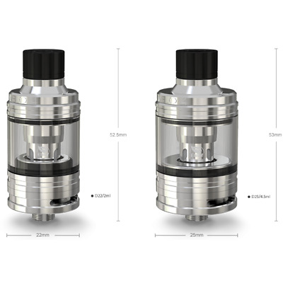 Atom. Melo 4 - Stainless Steel - Eleaf Originale Consegna 48 Ore