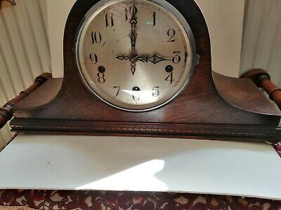 Vintage Enfield Westminster Napoleon Hat Westminster Chime Chime Mantel Clock