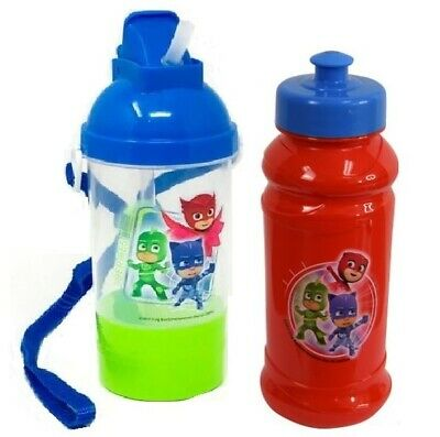 Disney Licensed Kids Rock N Sip N Snack Sport Canteen Tumbler Water Bottle Cup