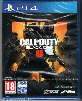 Call of Duty Black Ops 4 - COD BO IV PS4 NEUF VF INTEGRALE VERSION BOITE