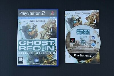 Tom Clancys Ghost Recon Warfighter Good Condition Manual PlayStation PS2 PAL UK