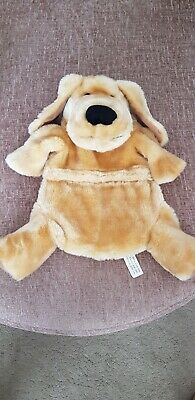 Novelty Hot Water Bottle With Plush Dog Cover