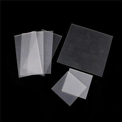 Clear Acrylic Perspex Sheet Cut To Size Plastic Panel DIY 2-5mm BR
