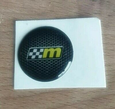 Start Button Badge Overlay Decal Sticker Mountune 20mm Ford Focus Fiesta ST RS