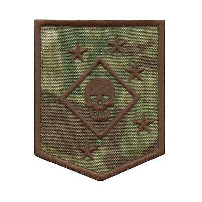 USMC Raiders Marines MARSOC multicam embroidered morale tactical hook&loop patch