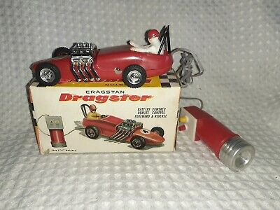 1960's Cragstan-DRAGSTER Battery Op-5.5 Inches-MIB
