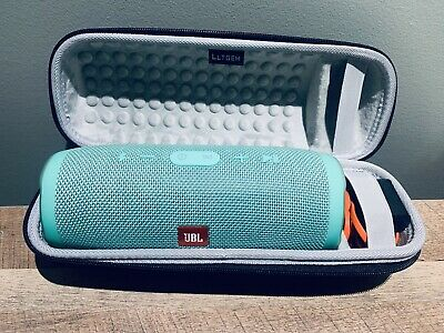 JBL Charge 3 Teal Waterproof Portable Bluetooth Speaker! Near Perfect Condition!