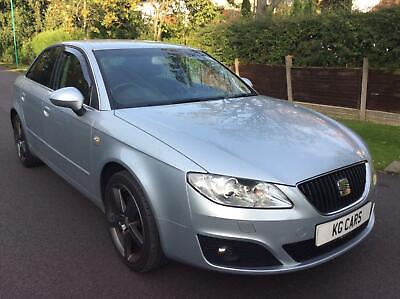 Seat Exeo 2.0TDI SE Lux FSH leather seats BUY FROM £20 PER WEEK